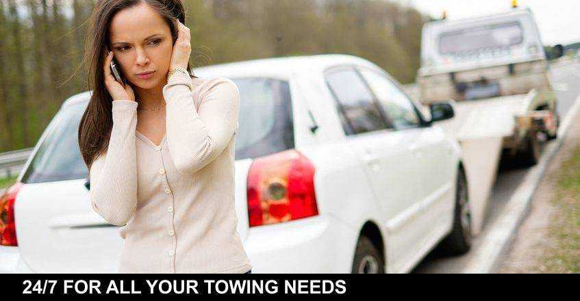 24/7 FOR ALL YOUR TOWING NEEDS.