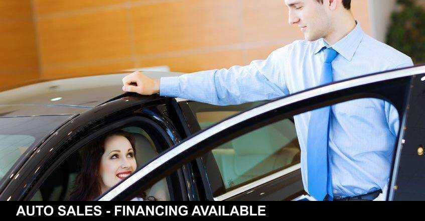 AUTO SALES - FINANCING AVAILABLE!
