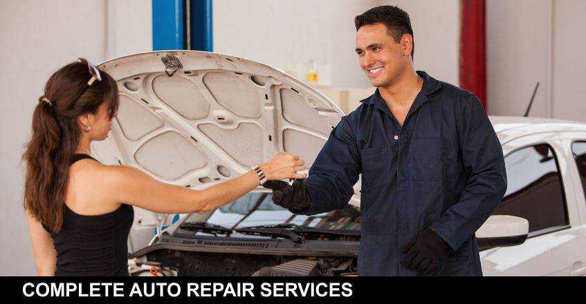COMPLETE AUTO REPAIR SERVICES!