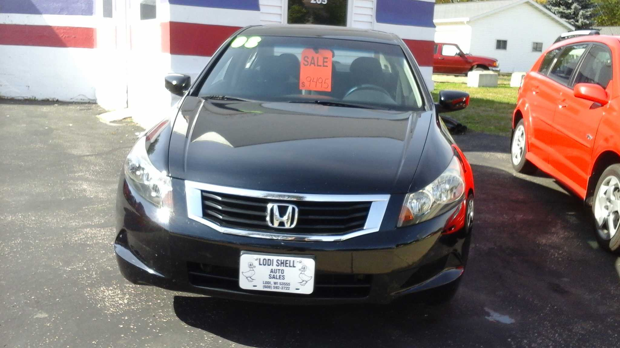 2008 Honda Accord 4c EX